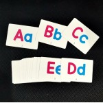 Wipe-able (Rewritable) Alphabet A-Z Early Learning Flash Cards