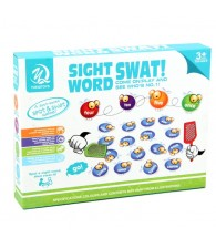 Crazy Sight Word SWAT Board Game Spot a sight word SWAT it