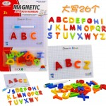 Magnetic Alphabet Number Fridge Magnet with Writing Board