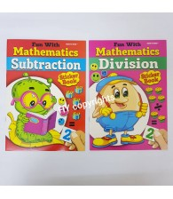 Fun With Mathematic Sticker Book (Set Of 2)