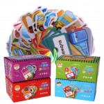 Chinese And English Bilingual Literacy Cognitive Card