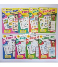 Preschool English Activity & Reading Book (Set Of 8)