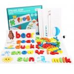 Wooden Cardboard English Cognitive Alphabet Spelling Game