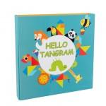 Wooden Magnetic Hello Tangram