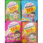 Good/Fun/Happy/All Time Stickers Book (Set of 4)