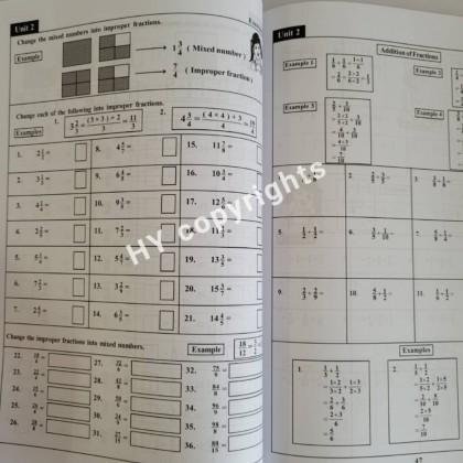 Daily Mathematics Activity Book