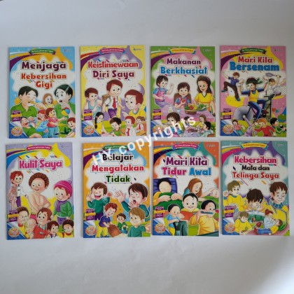 Personal Well Being Series Story Book (8books/set)