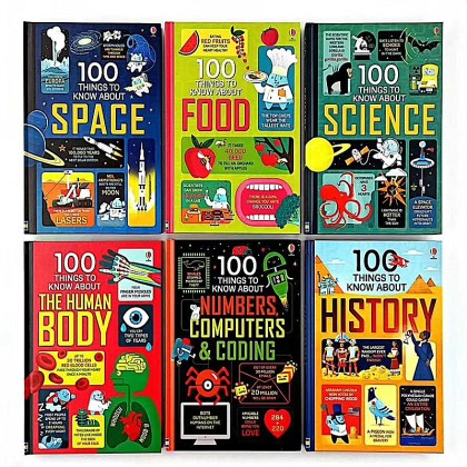 Usborne 100 Things To Know About (6books/set)