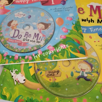 Do Re Mi Sing With Me (2Books/Set - Incl 2 VCD )