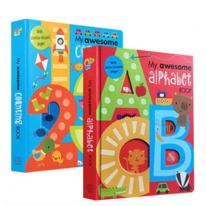 My Awesome Alphabet Counting Book (2 Books/set)