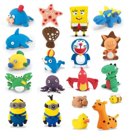 12/24 Color Super Light Clay Air Dry Polymer Plasticine Non-toxic Clay