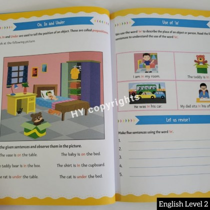 Let's Love Learning Science/Maths/English (6Books/set)