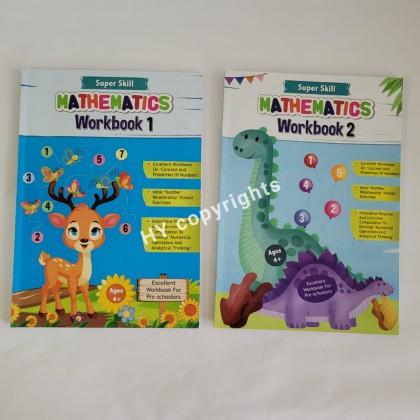 Super Skill Mathematics Workbook (2Books/set)